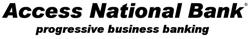Logo: Access National Bank